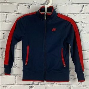NIKE Kids Jacket Tracksuit Top Size Small Youth